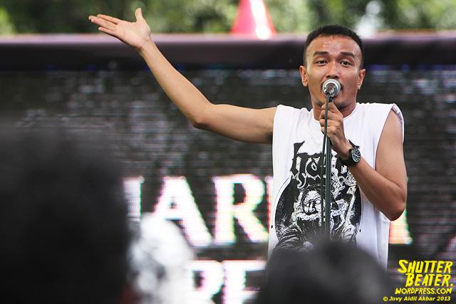 AUMAN at Bandung Berisik 2013-17