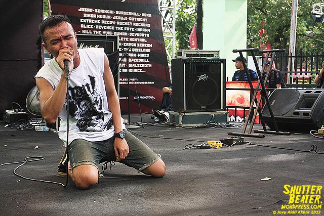 AUMAN at Bandung Berisik 2013-19