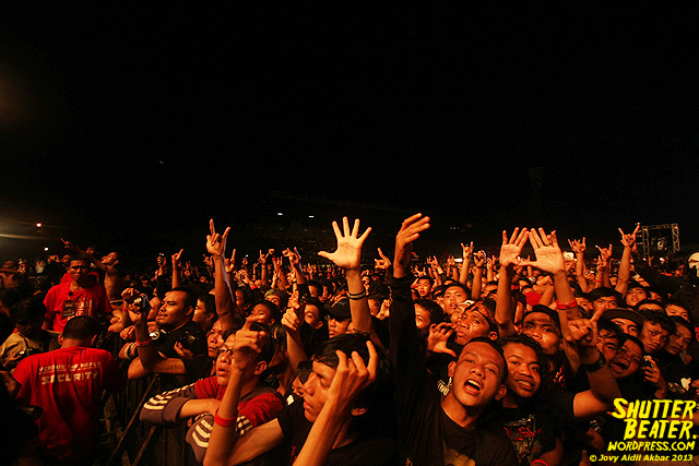 Burgerkill at Bandung Berisik 2013-10