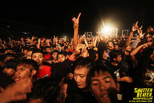 Burgerkill at Bandung Berisik 2013-36