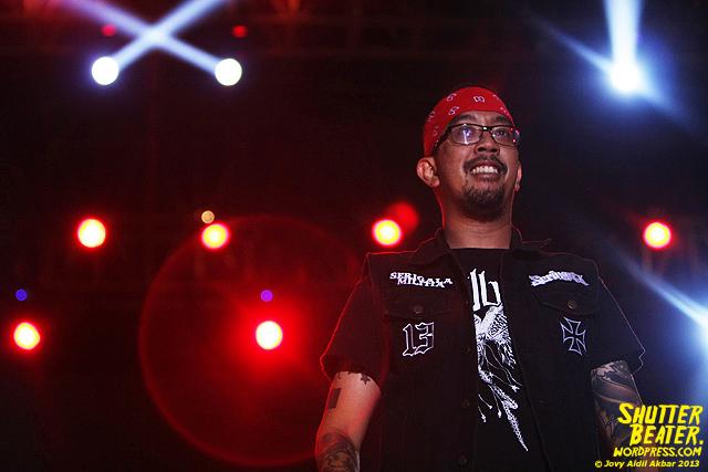 Seringai at Bandung Berisik 2013-15